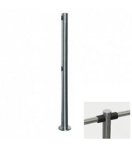 PERCo-BH02 2-01 Двухсторонняя стойка с 4-мя отверстиями для крепления патрубков (угол 180град.)