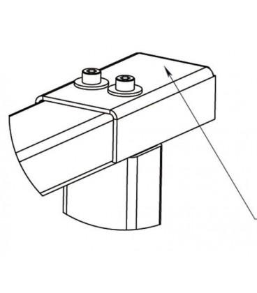 PERCo-RF01 0-08 Накладка верхняя для стыковки секции ограждения