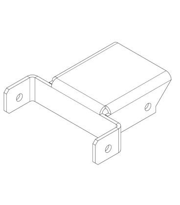 PERCo-MB-16.5 Накладка Н - образная (секция - турникет)