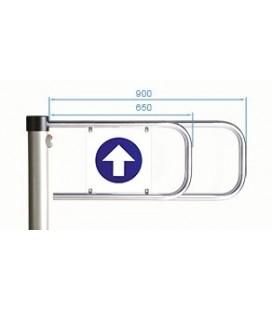 PERCo-ASG-650 Створка длиной 650 мм для стойки калитки PERCo-WHD-05