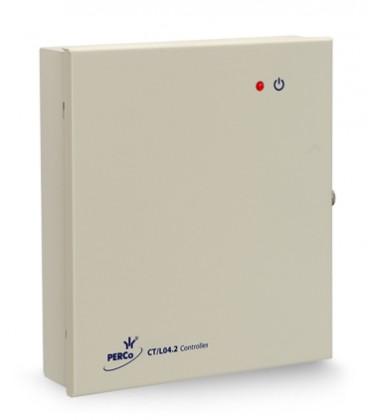 PERCo-CT/L04.2 Контроллер замка/турникета под 2 выносных считывателя