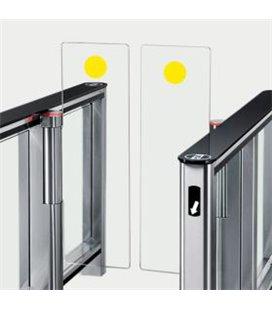 PERCo-SG1 Комплект наклеек безопасности (2 шт.) желтый круг