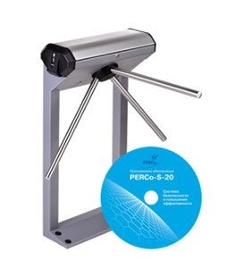 PERCo-KT02.9B Электронная проходная в комплекте с ПО PERCo-SP13