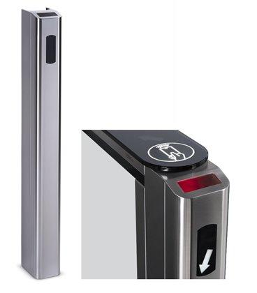 PERCo-FP01Q Передняя панель для установки сканера штрихкода